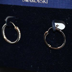 Swarovski Sommerset Hoop CZ Earrings #1172374